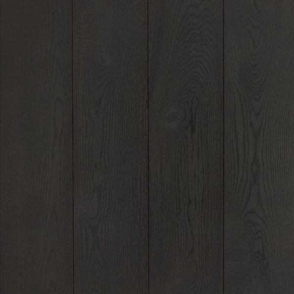 Luxury Oak Wood Flooring | Ice Black Samples